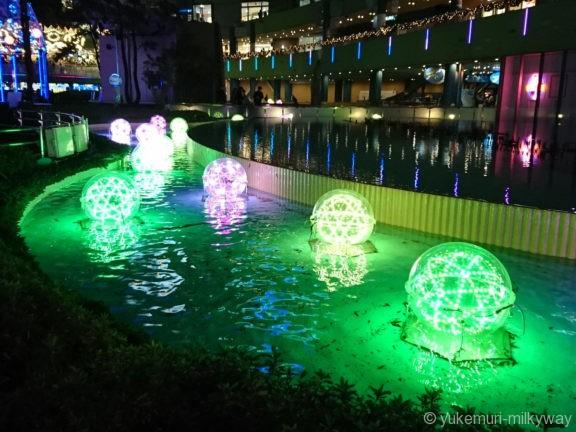 東京ドームシティイルミネーション ドルチェフロート3