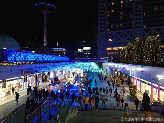東京ドームシティイルミネーション クリスタルアベニュー