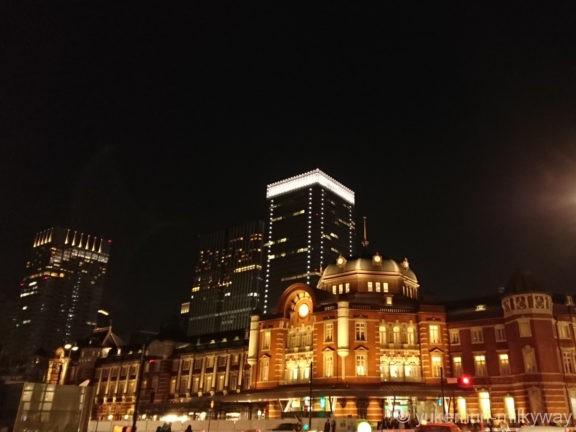 東京駅丸の内駅舎南側