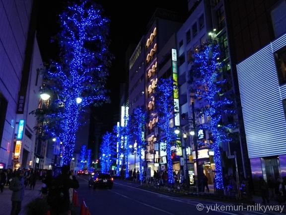 渋谷・青の洞窟 公園通り入口