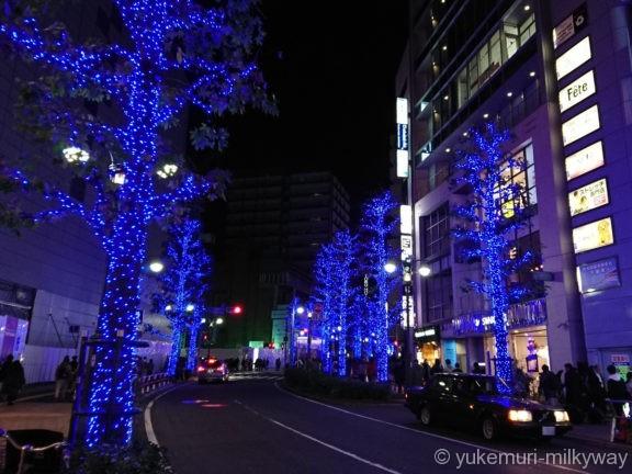 渋谷・青の洞窟 公園通り中程1