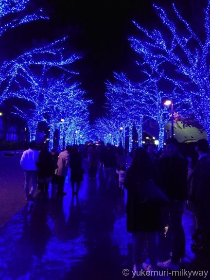渋谷・青の洞窟 代々木公園公園中程2