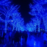 文字通りの、青い世界が広がる。<br>~渋谷・青の洞窟~ 東京都心イルミめぐり その4