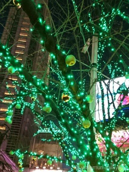 渋谷ハチ公前広場イルミ3