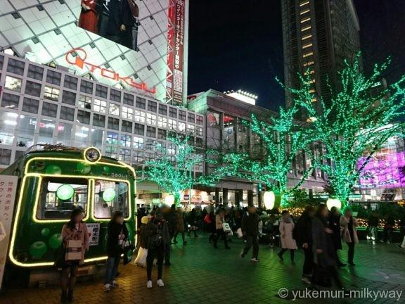 渋谷ハチ公前広場イルミ2