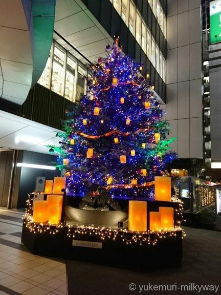 渋谷ヒカリエ クリスマスツリー1