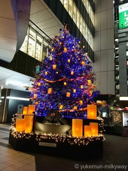 渋谷ヒカリエ クリスマスツリー2