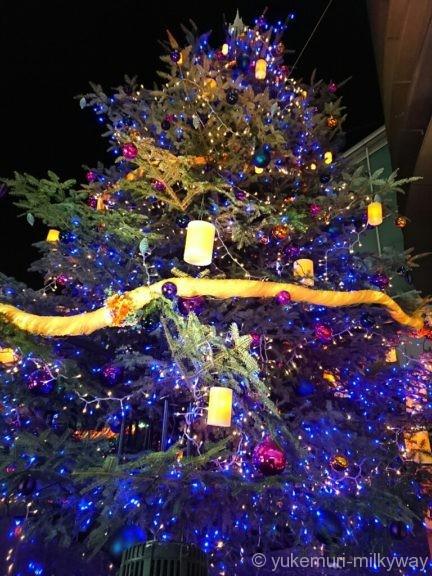 渋谷ヒカリエ クリスマスツリー3