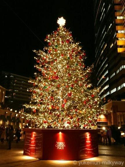 恵比寿ガーデンプレイス クリスマスツリー北側