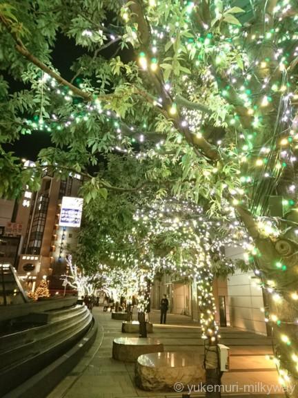 東京ミッドタウン ウェルカムイルミ緑