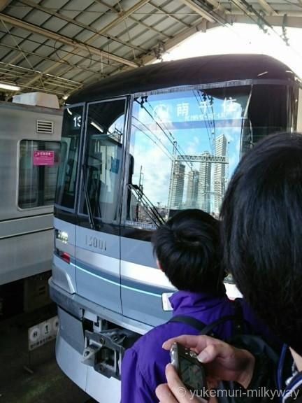 日比谷線13000系特別運行 13001@南千住駅