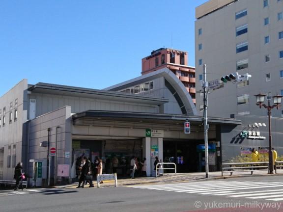 駒込駅北口駅舎