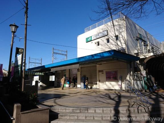 上中里駅 駅舎