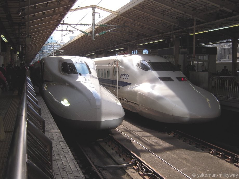 東海道新幹線 N700A・N700系@東京