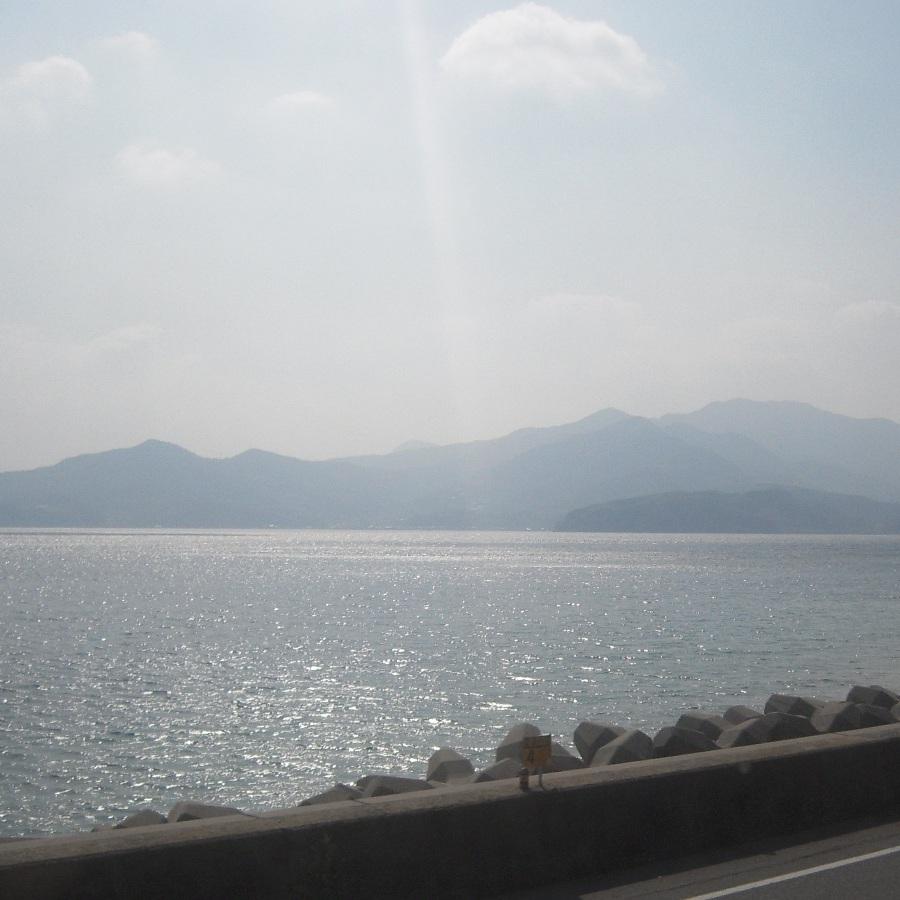 山陽本線車窓からの周防大島