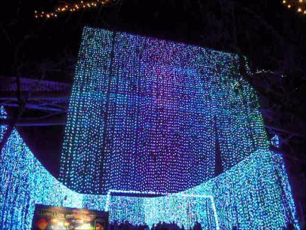 さがみ湖イルミリオン 光のナイアガラ2