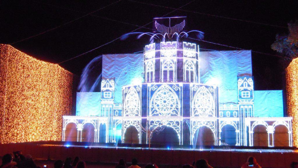 さがみ湖イルミリオン 光の大宮殿3