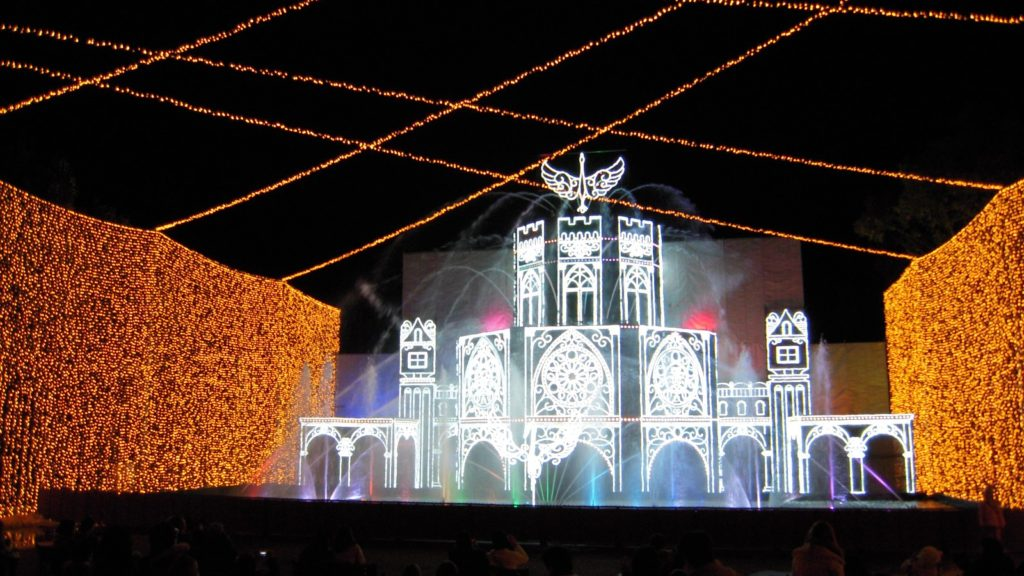 さがみ湖イルミリオン 光の大宮殿5