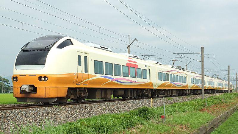 JR東日本 E653系1000番代 特急いなほ5号 秋田行き U104編成 クロE652-1004 @東酒田 14-07-31