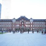 東京駅丸の内駅前広場が完成したので、行ってきました。昼と夜で違う雰囲気を堪能。