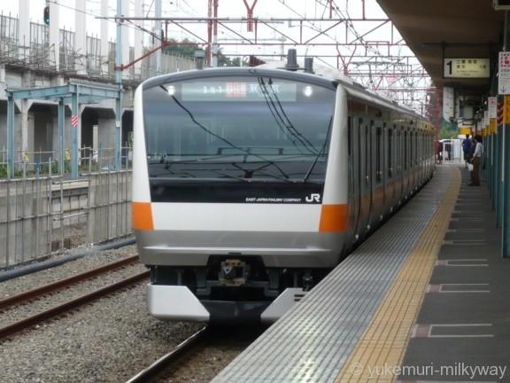 JR東日本E233系 快速東京行き