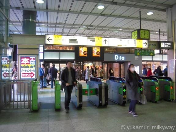 阿佐ケ谷駅改札