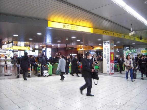 浜松町駅JR南口改札
