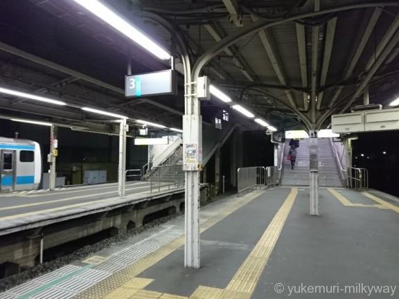 東十条駅3・4番ホーム南口階段
