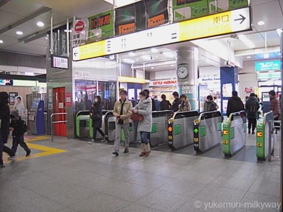 高円寺駅改札