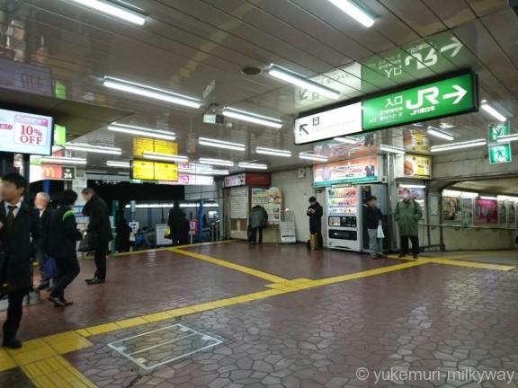 西日暮里駅JR出口