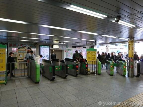 王子駅JR北口改札