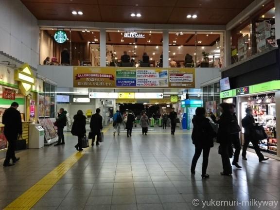 田端駅北口改札
