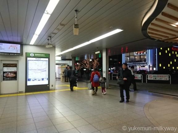 田端駅北口出口