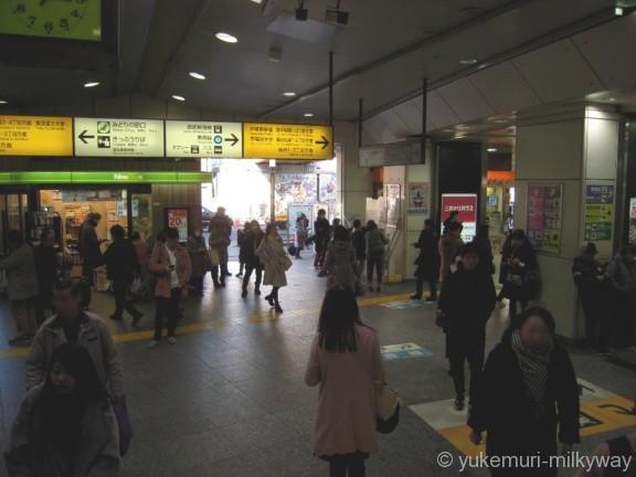 高田馬場駅JR早稲田口出口