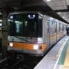 引退直前!東京メトロ銀座線01系。今に続く車内案内を30年以上も前に装備。