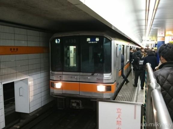 東京メトロ01系渋谷行き@表参道