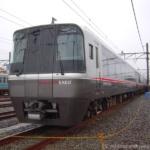 2017年の小田急ファミリー鉄道展・EXEαが横並びで展示