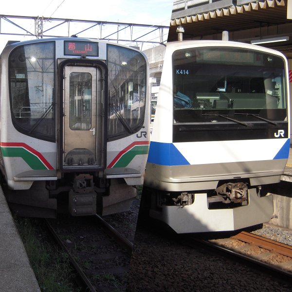 JR東日本 E721系とE521系