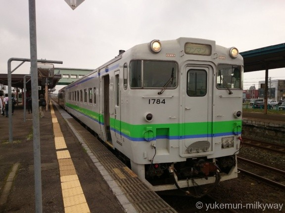 JR北海道キハ40系 普通 長万部行き キハ40-1784 @長万部
