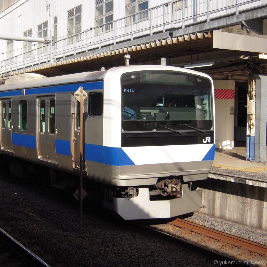 JR東日本E531系 普通 上野行き クハE530-14 @北千住