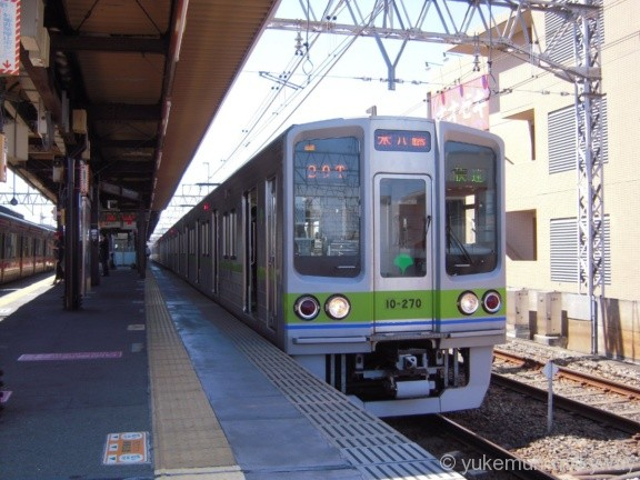 東京都交通局10-000形 快速本八幡行き 10-270F 10-270 @八幡山 17-04-23