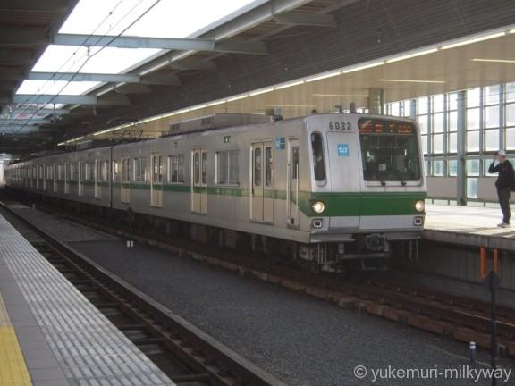 東京メトロ6000系 急行取手行き 6122F 6022 @登戸