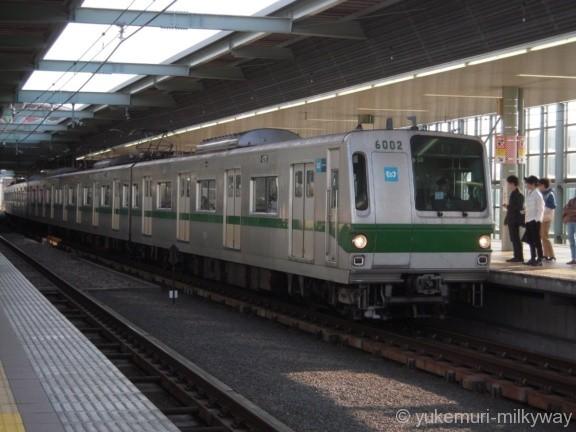 東京メトロ6000系 急行柏行き 6002F 6002 @登戸