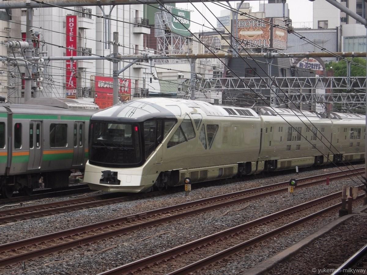 JR東日本E001形 TRAIN SUITE 四季島 E001-10 @鶯谷