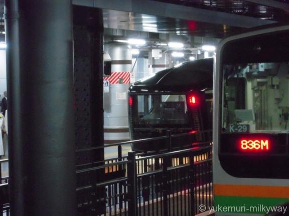 JR東日本E001形 TRAIN SUITE 四季島 発車待ち遠望 E001-1 @上野