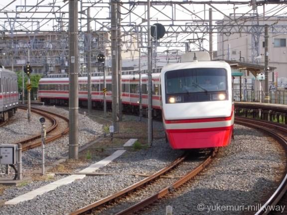 東武200系 特急りょうもう6号 浅草行き 205F モハ205-1 @鐘ヶ淵