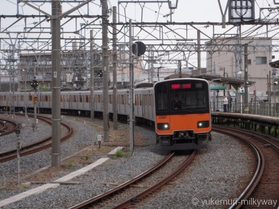 東武50050系 急行中央林間行き 51067F クハ51067 @鐘ヶ淵