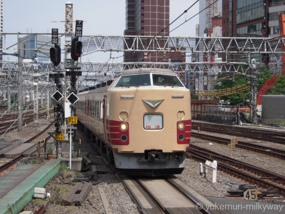 JR東日本189系 特急かいじ186号 新宿行き 八トタM51編成 クハ189-508 @新宿