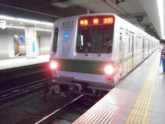 東京メトロ6000系 準急柏行き 6022F 6022 @成城学園前