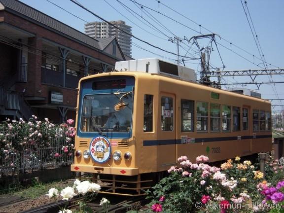 東京都交通局7000形 三ノ輪橋行き 7022 @三ノ輪橋